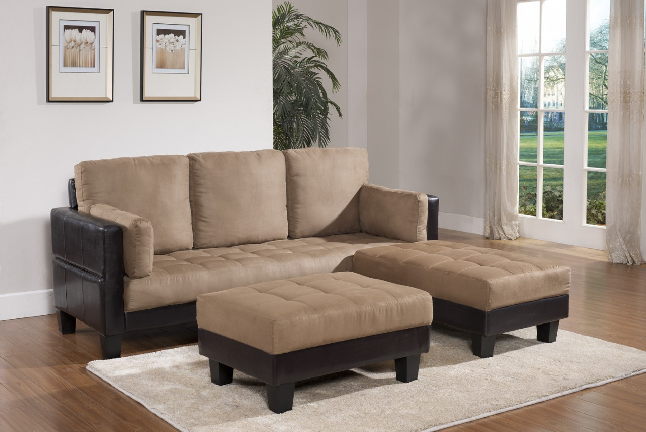 Living rooms sofa chaises furniture plus delaware for Ashley microfiber sectional with chaise